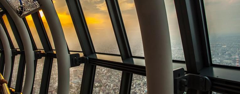 Vue depuis la Tokyo Sky Tower