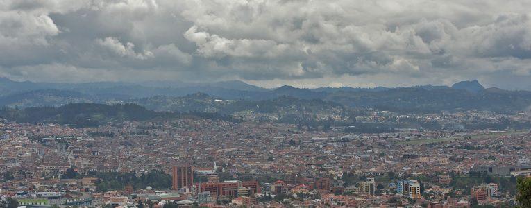 Vue sur Cuenca