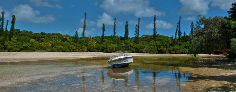 Baie d'Oro sur l'îles des Pins en Nouvelle Calédonie