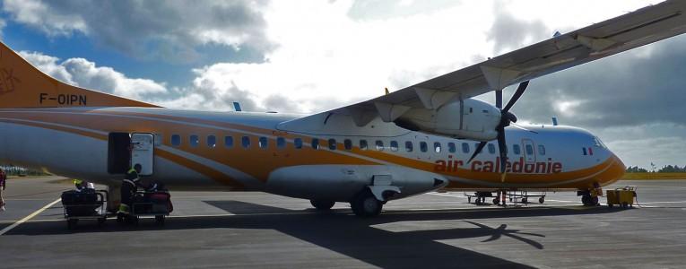 Aéroport de Moue, île des PIns