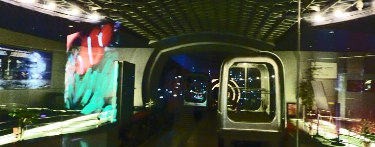 Capsule pour traverser la rivière Huangpu