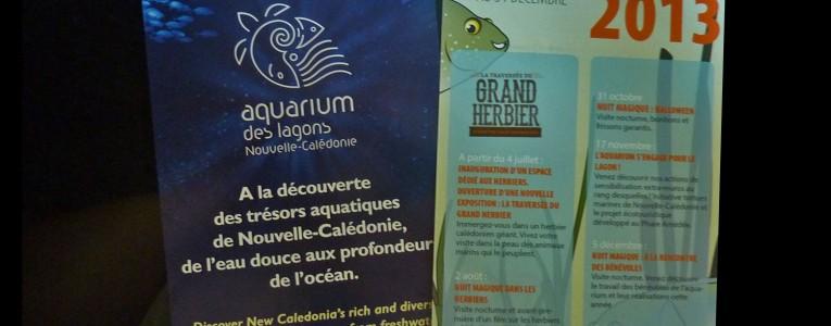 Brochure de l'aquarium