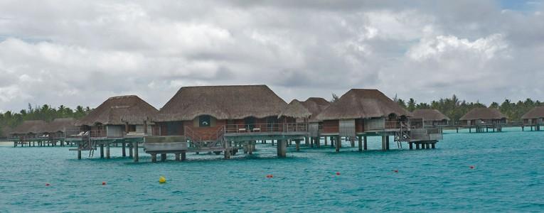 Bungalows à l'est de Bora