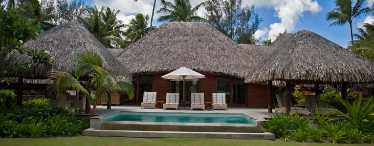 Notre villa au four seasons de Bora Bora
