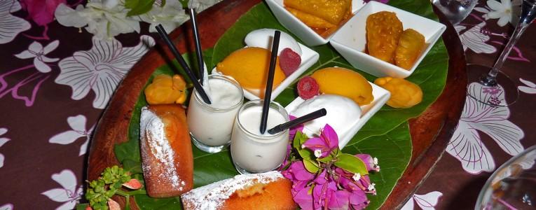 Dessert polynésien