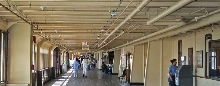 Intérieur du RMS Queen Mary