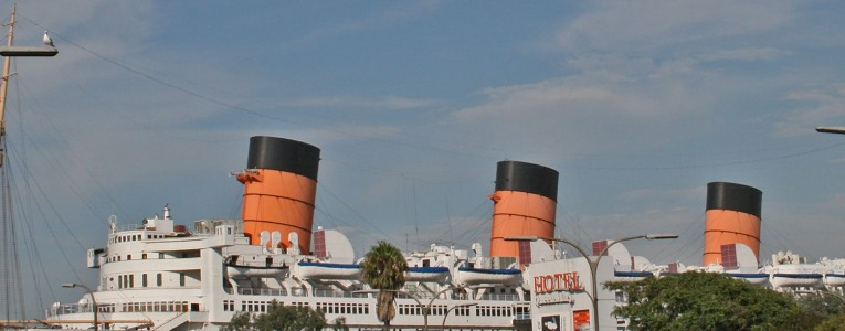 RMS Queen Mary a quai