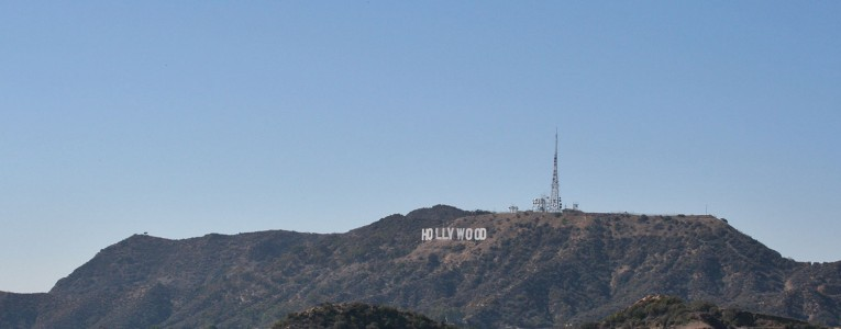Vue sur Hollywood SIgn depuis Griffith Observatory