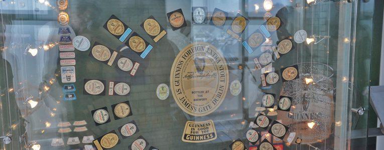 Merchandising au musée Guinness