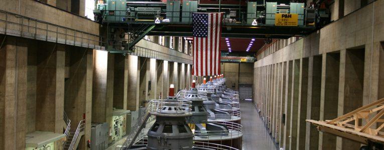 Turbines du Hoover Dam