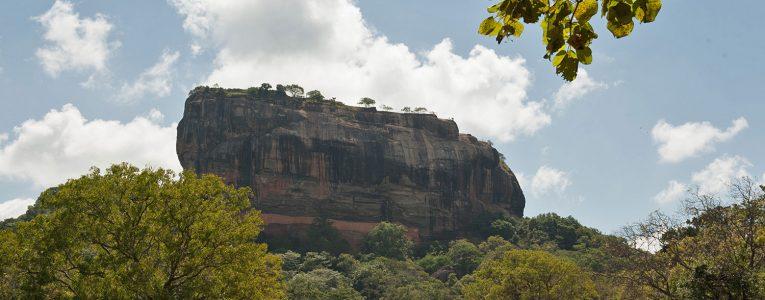 La colline de Sigiriya
