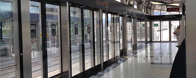 Une station de Tram
