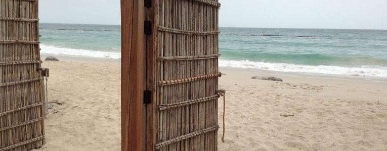 Vue sur la mer depuis la villa 1 chambre du Six Senses d'Oman
