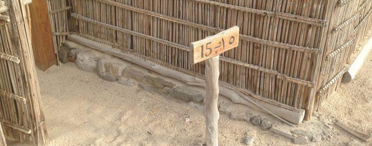 Numéro de la villa sur la plage du Six Senses