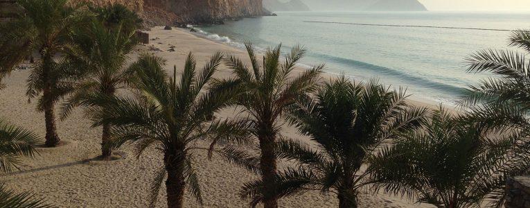 Vue sur la mer depuis la villa 2 chambres du Six Senses d'Oman