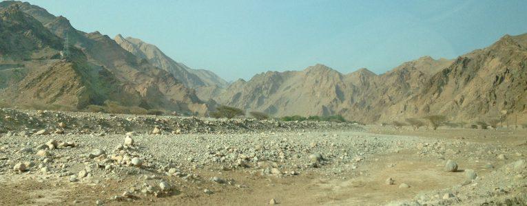 Avant d'emprunter la route de montagne pour Zighy Bay