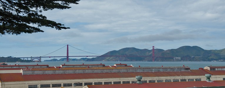 Golden Gate Bridge depuis les Piers