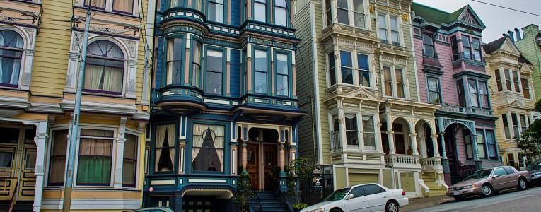Une rue de San Francisco