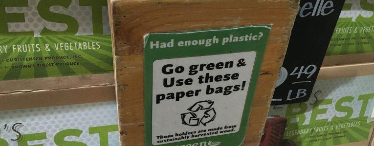 Paper Bag pour les fruits et légumes