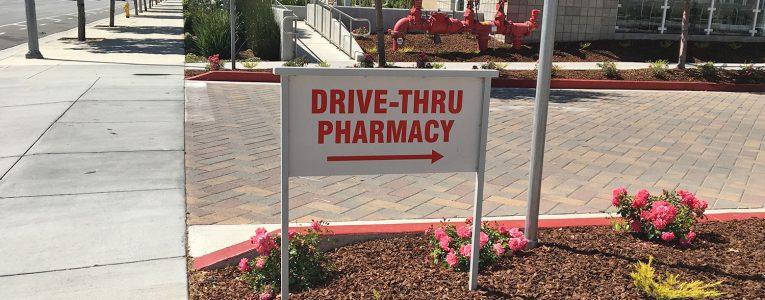 Drive à la pharmacie