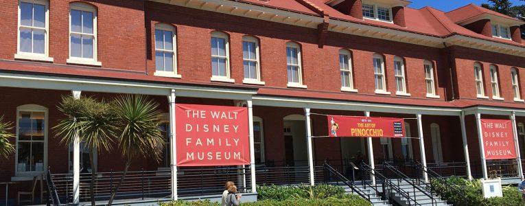 Entrée du musée Disney