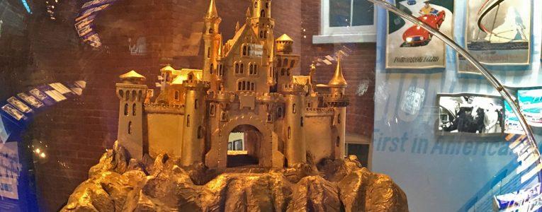 Maquette du château du parc disney d'Anaheim