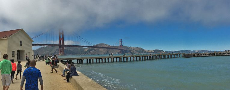 Fort Point San Francisco vers la ville